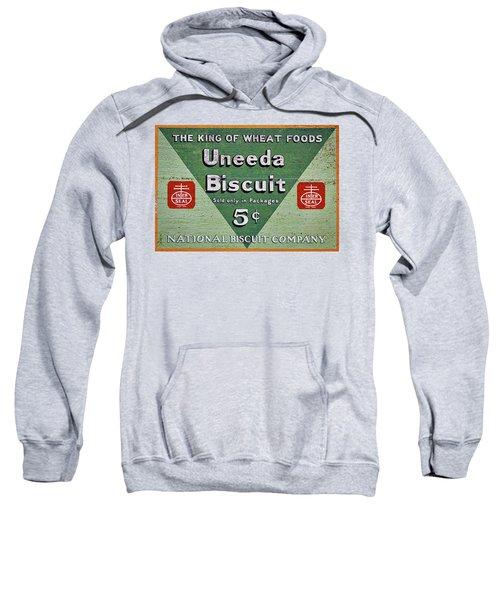 Uneeda Biscuit Vintage Sign Sweatshirt