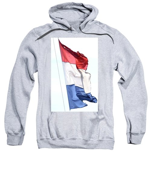 Sweatshirt featuring the photograph Unfurl 02 by Stephen Mitchell