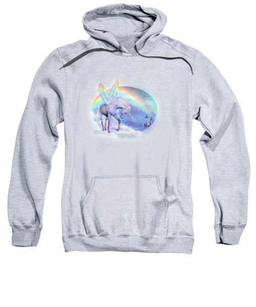 Unicorn Of The Rainbow Sweatshirt by Carol Cavalaris