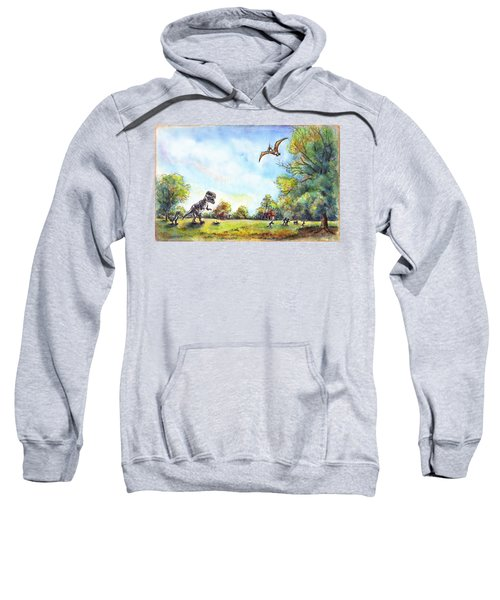 Uninvited Picnic Guests Sweatshirt