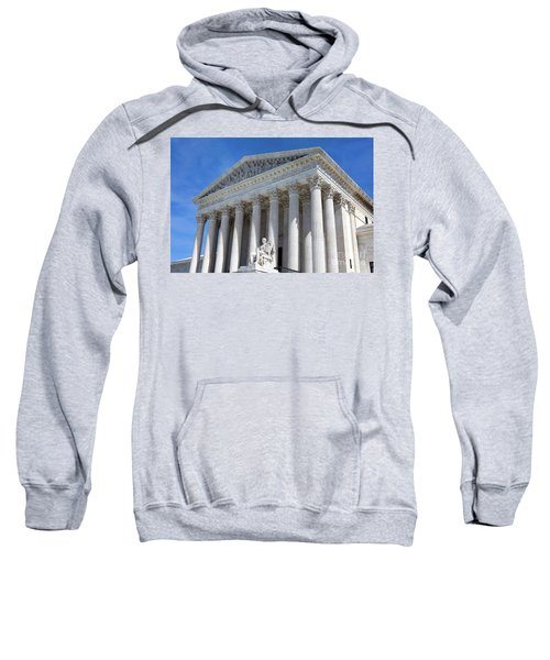 United States Supreme Court Building Sweatshirt