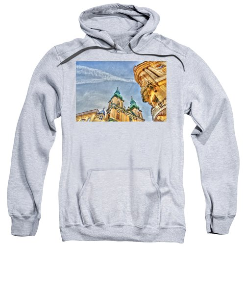 University Church In Budapest Sweatshirt