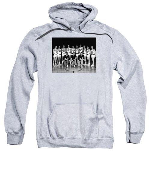 University Of Michigan Basketball Team 1960-61 Sweatshirt by Mountain Dreams