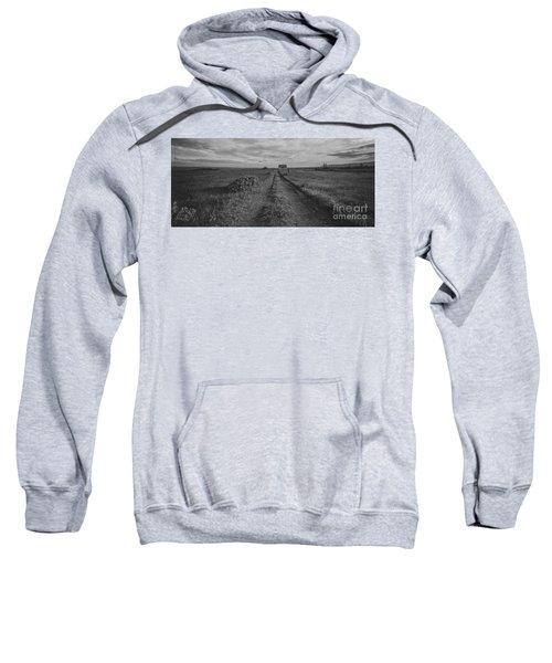 Unknown Road Bw Sweatshirt