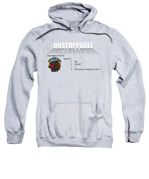 Unstoppable V1 Sweatshirt by Michael Frank Jr