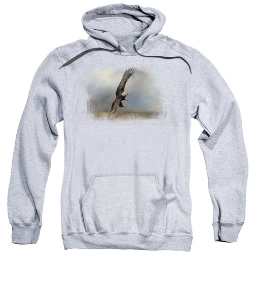 Up Against The Storm Sweatshirt by Jai Johnson
