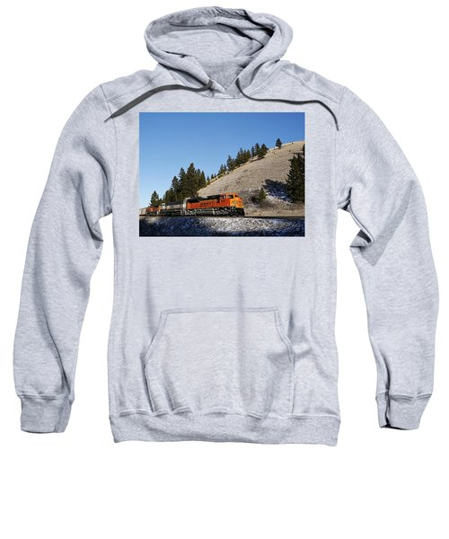 Up Hill And Into The Sun Sweatshirt