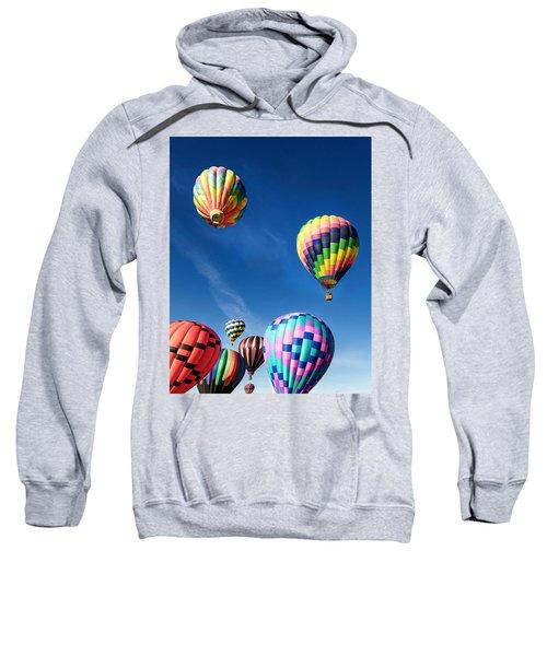 Up In A Hot Air Balloon 2 Sweatshirt