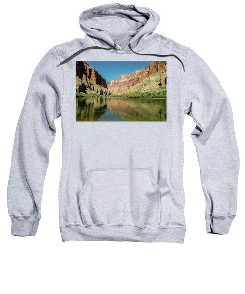 Up The  Colorado River From Littlle Nankoweap Beach Sweatshirt