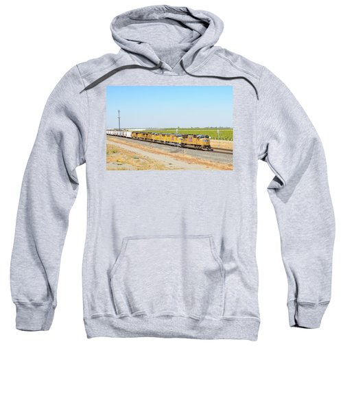 Sweatshirt featuring the photograph Up4912 by Jim Thompson