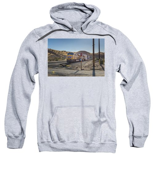 Sweatshirt featuring the photograph Up7472 by Jim Thompson