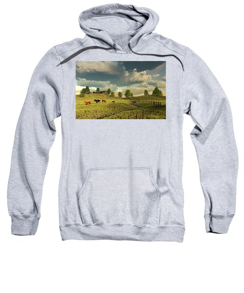 Upon The Rural Seas Sweatshirt