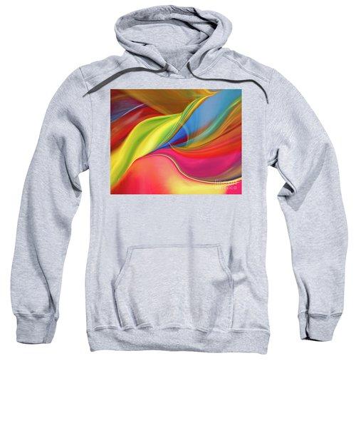 Upside Down Inside Out Sweatshirt