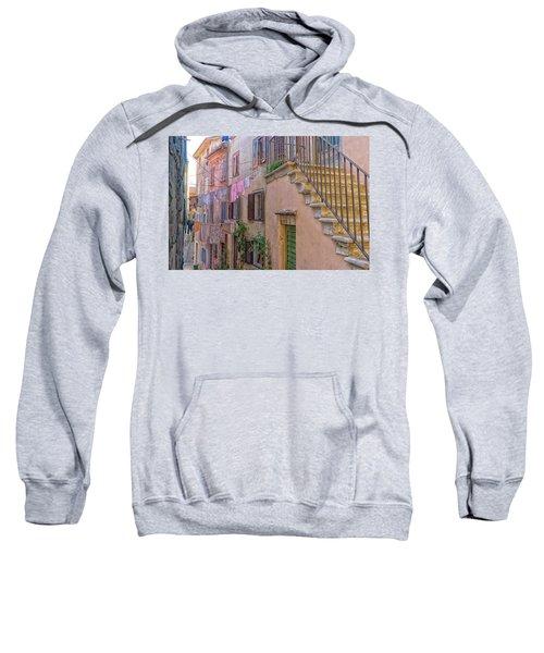 Urban View With Laundary Sweatshirt