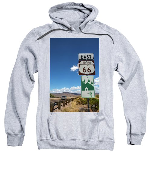 Us Route 66 Sign Arizona Sweatshirt