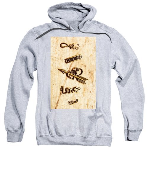 Valentine Pendants Sweatshirt