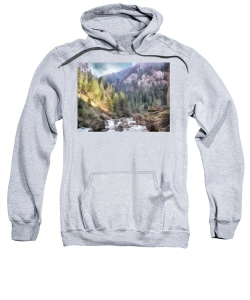 Valley Of Light And Shadow Sweatshirt