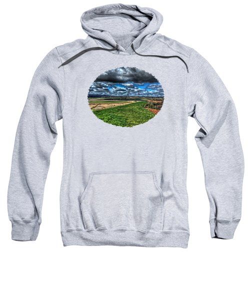 Van Duzer Vineyards View Sweatshirt by Thom Zehrfeld