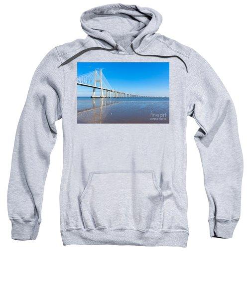 Vasco Da Gama Bridge, Lisbon Sweatshirt