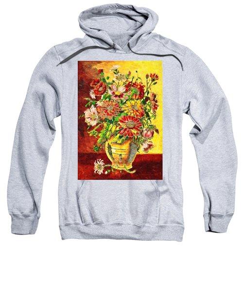 Vase Of Flowers Sweatshirt