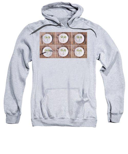 Vegetable Faces Sweatshirt