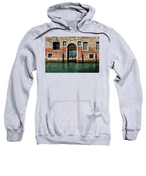 Venetian House On Canal Sweatshirt