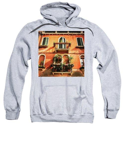 Venetian Windows Sweatshirt