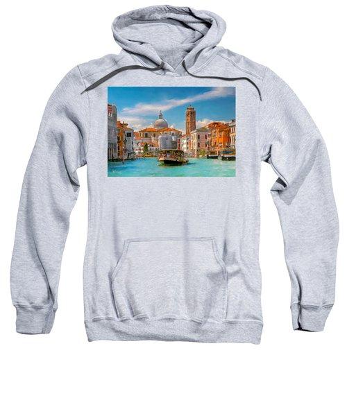 Venezia. Fermata San Marcuola Sweatshirt