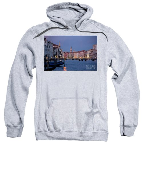 Venice Blue Hour 2 Sweatshirt