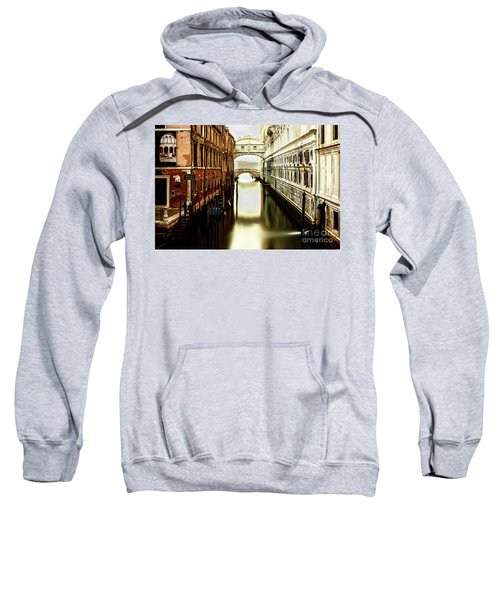 Venice Bridge Of Sighs Sweatshirt
