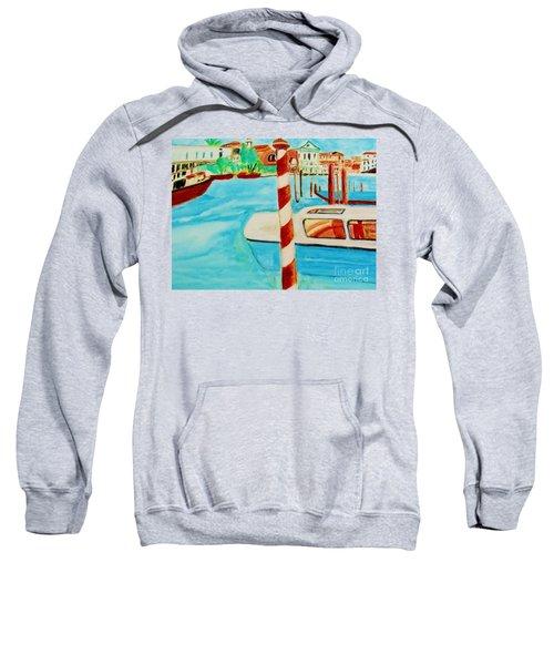 Venice Travel By Boat Sweatshirt