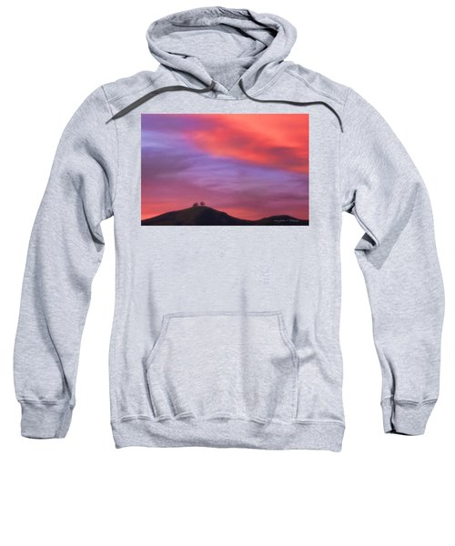 Ventura Ca Two Trees At Sunset Sweatshirt