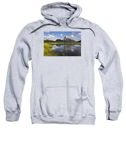 Vermillion Lake And Sulpher Mountain Sweatshirt