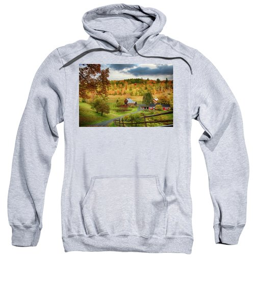 Vermont Sleepy Hollow In Fall Foliage Sweatshirt