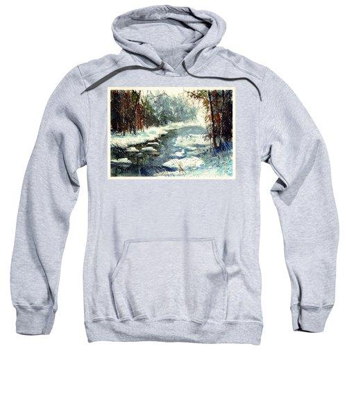 Very Cold Winter Watercolor Sweatshirt