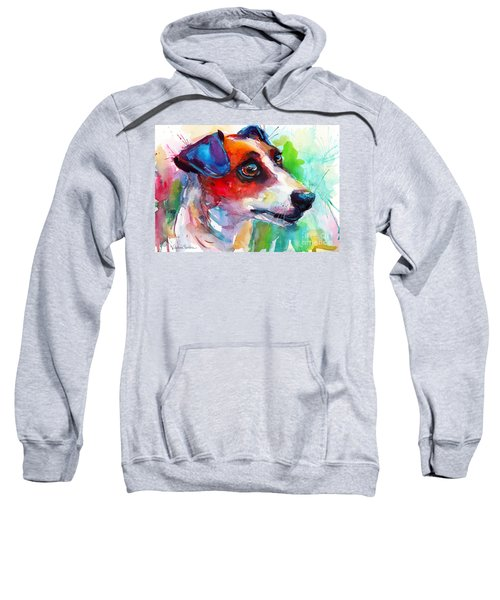 Vibrant Jack Russell Terrier Dog Sweatshirt