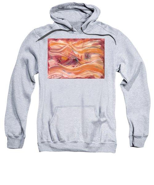 Vibrant Silk Sweatshirt