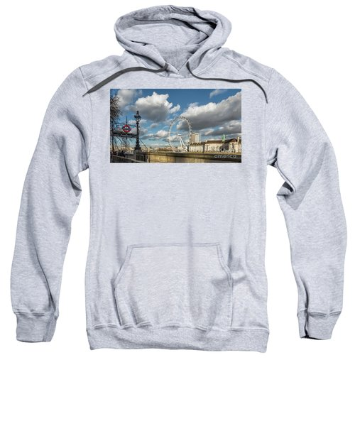 Victoria Embankment Sweatshirt by Adrian Evans