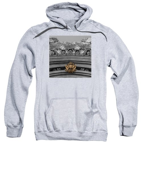 Victoria Tower Low Angle London Sweatshirt