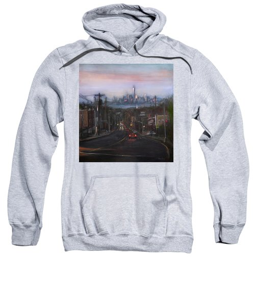 Victory Boulevard At Dusk Sweatshirt