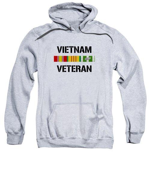 Vietnam Veteran Ribbon Bar - Two Sweatshirt