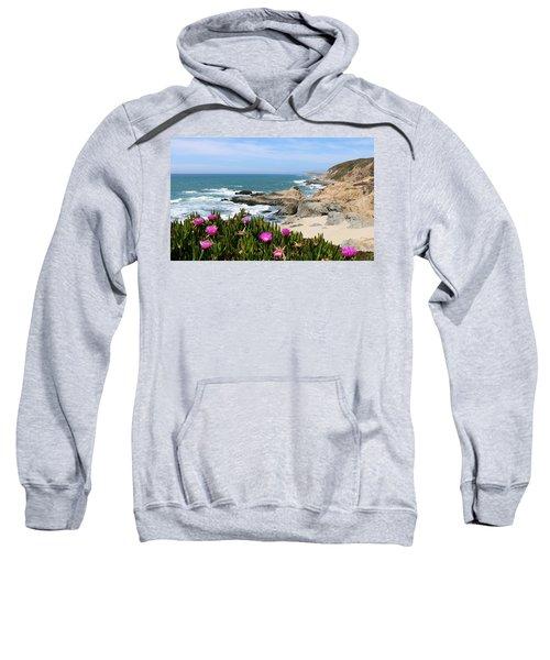 View From Bodega Head In Bodega Bay Ca - 3 Sweatshirt