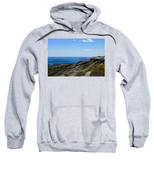 View From Cadillac Mountain Sweatshirt