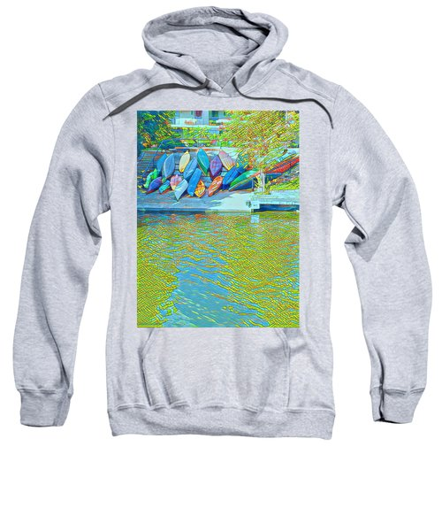 View From East Side Boardwalk Sweatshirt