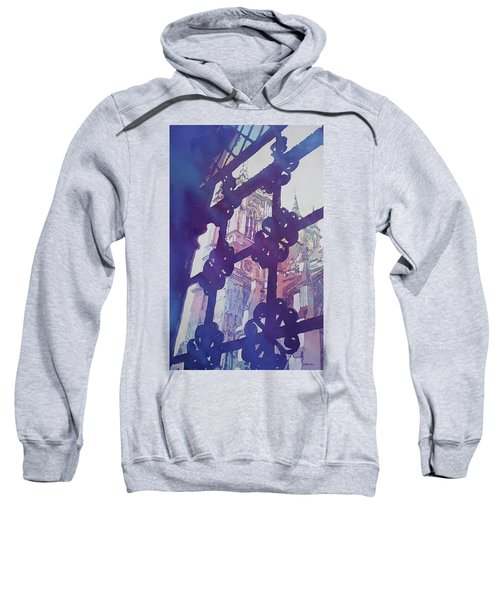 View From The Cloister Sweatshirt by Jenny Armitage