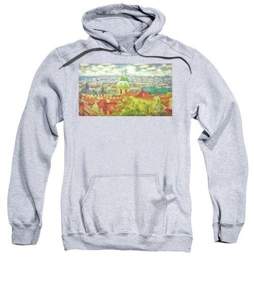 View From The High Ground - Prague  Sweatshirt