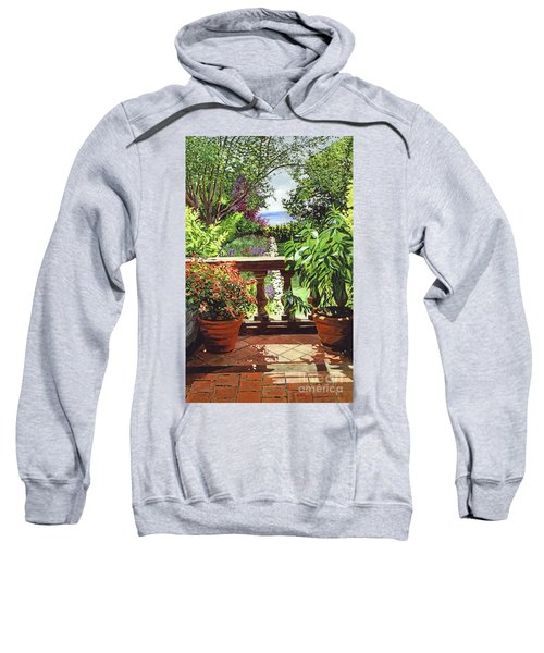 View From The Royal Garden Sweatshirt