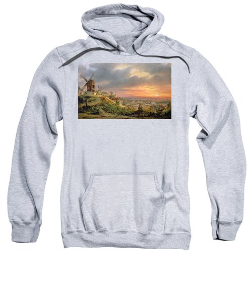 View Of The Butte Montmartre Sweatshirt