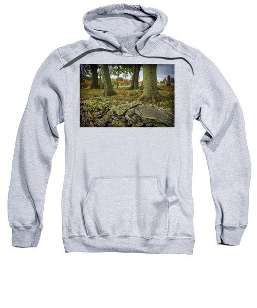 View Toward The Cemetery Sweatshirt