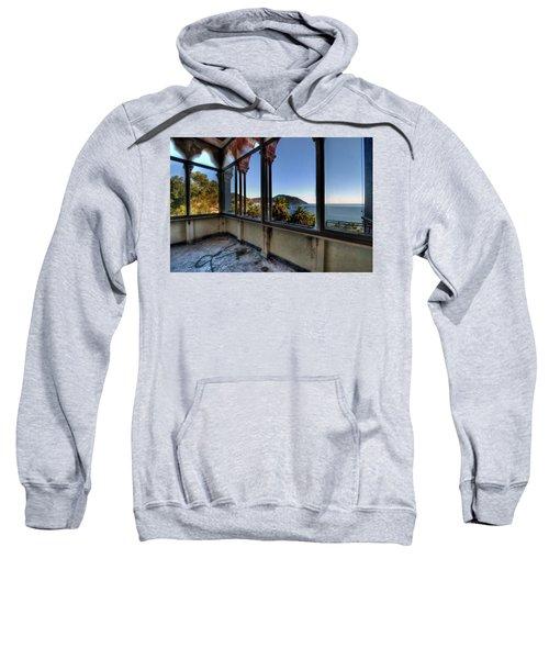 Villa Of Windows On The Sea - Villa Delle Finestre Sul Mare II Sweatshirt